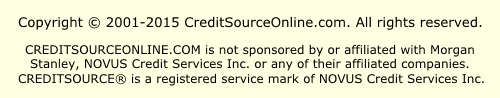 CreditSourceOnline Copyright and Disclaimer