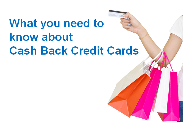 What you need to know about cash back credit cards