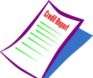 The three main credit report companies